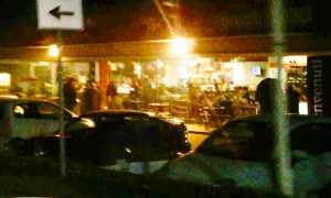 bar discussione notte
