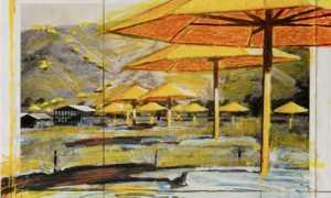 christo ecole ombrelloni