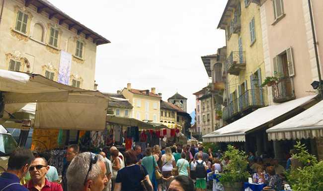 mercato domo piazza