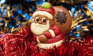 natale babbo cioccolato