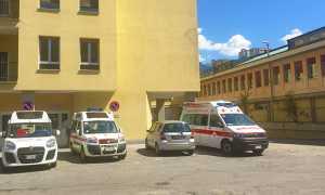 ospedale san biagio cortile ambulanze