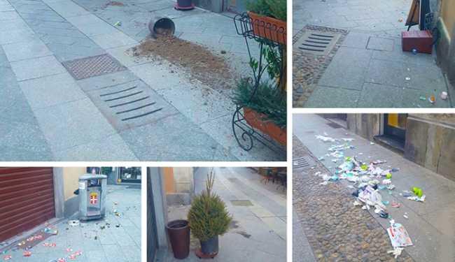 vandali fioriera cestini domo briona