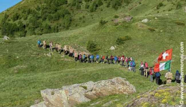 Sentiero spalloni vallese